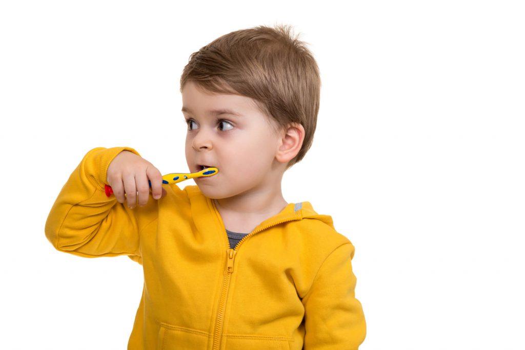kid brushing Pediatric Tooth Fillings Monsey New York